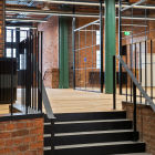 St Johns Bonded Warehouse. Fit out. Amspec Design and Build