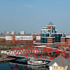 Sky line photography for Salford Council