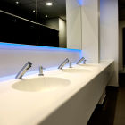 QVC Toilets fit out. Amspec Design and Build