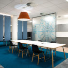 Vistas Office floor design by Standing Space<br />Furniture by Ikon Furniture